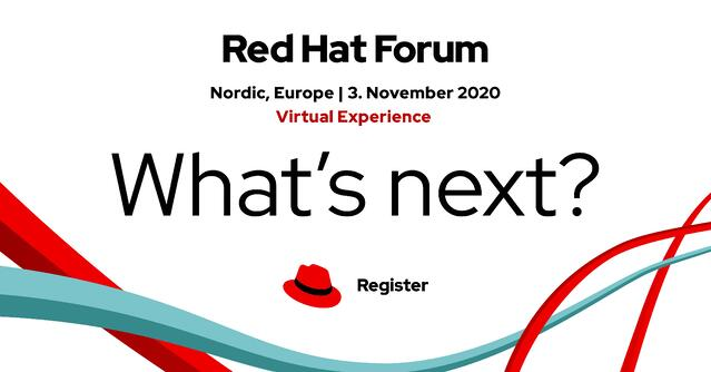 Red Hat Forum What's next?